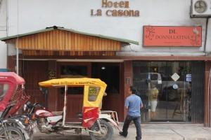 Motos and Hotel La Casona